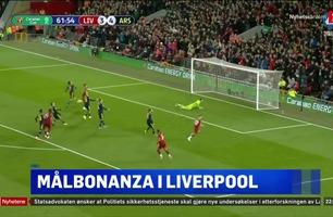 Sportsnyhetene: Liverpool videre etter spinnvill timålsfest