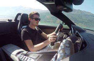 Årets feteste biltur? Broom tester Mercedes-AMG GT C i Hardanger