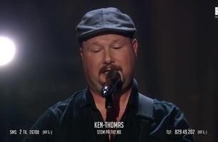 Nesten blinde Ken-Thomas spilte sang om datteren: – Det når rett hjem