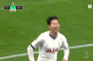 Tottenham banket Burnley 5-0