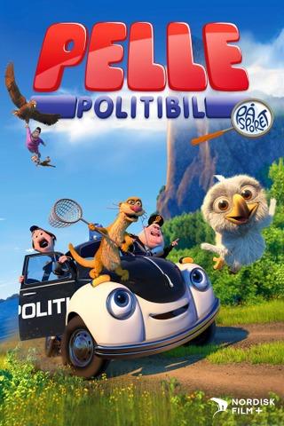 Pelle Politibil på sporet