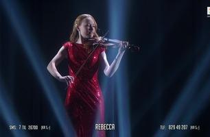 Rebecca (16) får stående applaus: – Du er en verdensstjerne, jeg har ikke ord