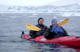 Samuel Massie lurte døden to ganger i Antarktis: – Man kan ikke la seg stoppe av frykten
