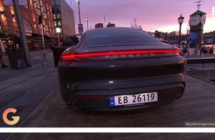 Her er Porsches første elbil i Norge