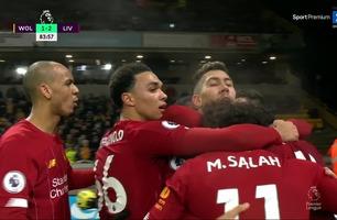 Roberto Firmino avgjør kampen for Liverpool