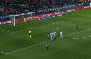 Sammendrag: Osasuna - Levante 2-0