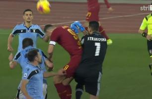 Sammendrag: Roma - Lazio 1-1