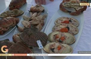 Håndrenset Hitra-krabbe blir til deilig smørbrød