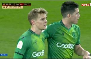 Sportsnyhetene: Ødegaard-scoring mot Real Madrid