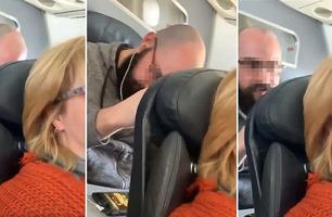 Legger ned seteryggen på flyet – blir angrepet av forbanna medpassasjer