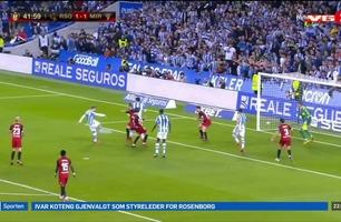 Sportsnyhetene: Ødegaard scoret i semifinalen i cupen
