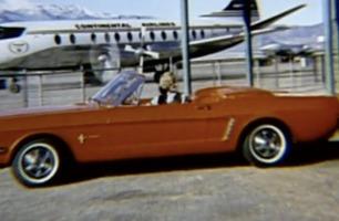 Se storlanseringen av Ford Mustang på 60-tallet: –Fantastisk!