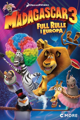 Madagaskar 3: Full rulle i Europa (Norsk tale)