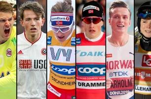 Så ofte dopingtestes 20 av Norges største idrettsprofiler