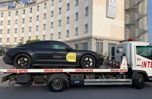 5) Europatur Porsche Taycan: Hit, men ikke lenger