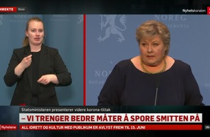 Pressekonferanse: Slik blir tiltakene etter påske
