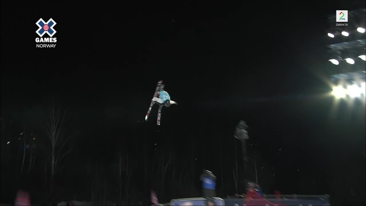 Birk Ruud (16) i X Games-finalen