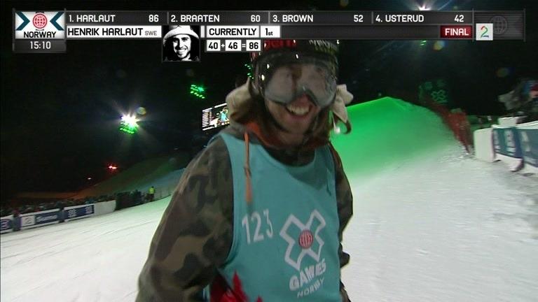 Henrik Harlaut vant gull i X Games Norway