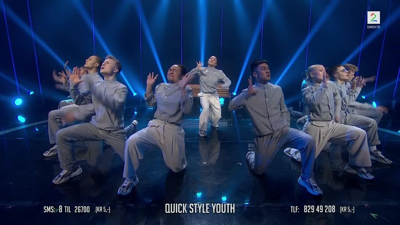 Dansegruppen imponerer proffdanser-Mona: – Dere er på et internasjonalt, fantastisk nivå