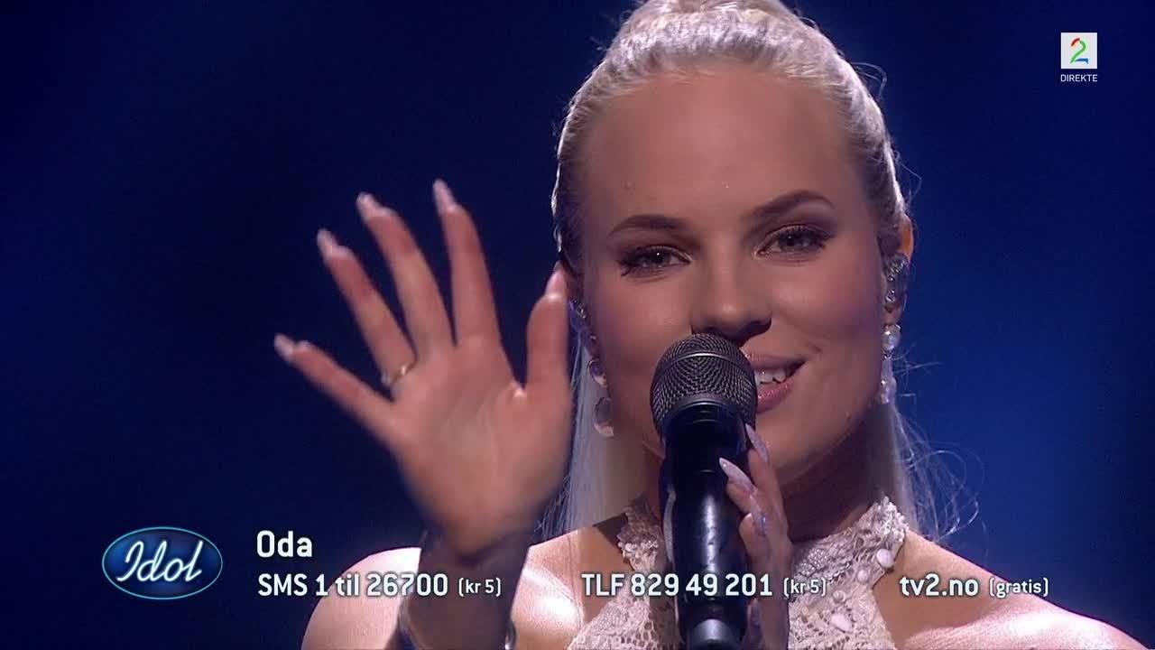 Oda startet finalen: – Dette er en låt som har vinnerlykke
