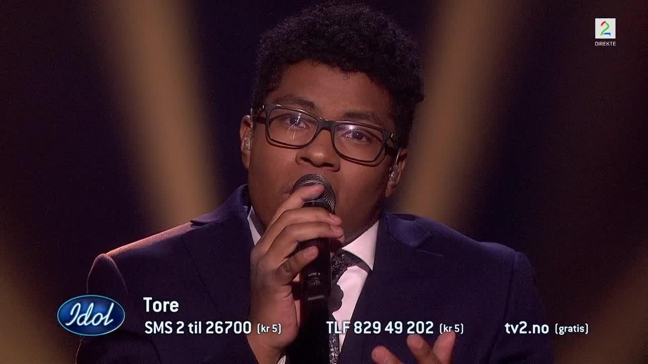 Tore smeltet dommerne med sin siste sang i Idol:  – Du får min stemme