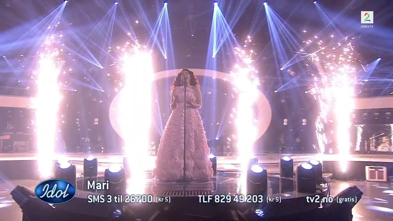 Maris siste sang i Idol: – Ååjåjåj!