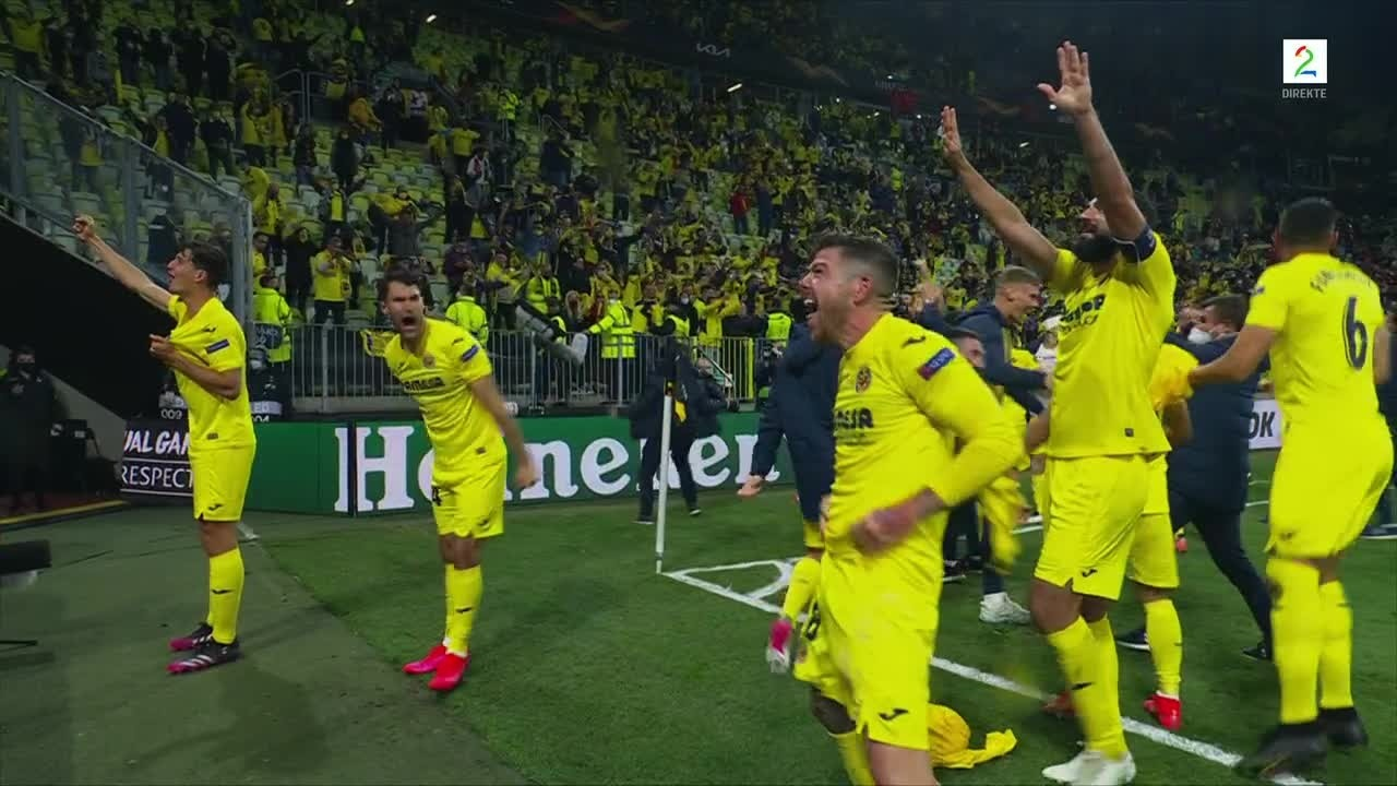 Se hele straffekonken: Villarreal vinner Europa League 2020/21