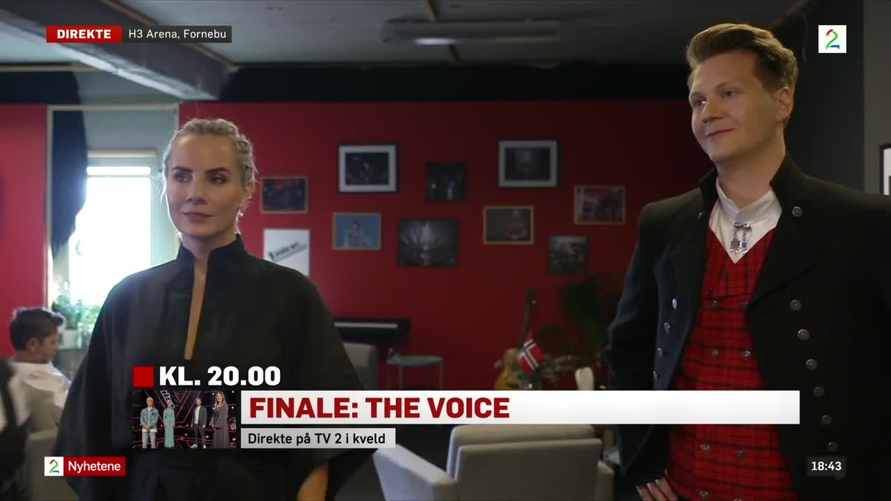 Nervøse mentorer før The Voice-finalen: – Har sovet dårlig hele uka