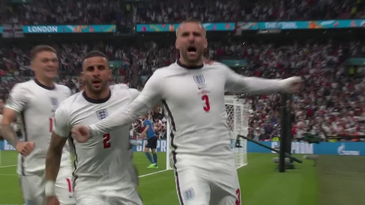 Luke Shaw gir England en drømmestart