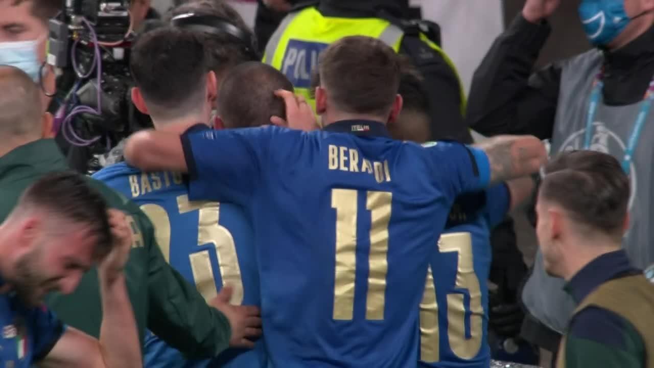 Italia har vunnet EM