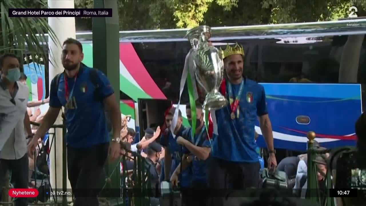 Sportsnyhetene: Her ankommer Italia hjemlandet