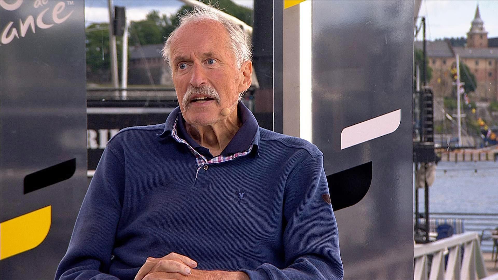 Johan Kaggestad besøker Tour de France-studio