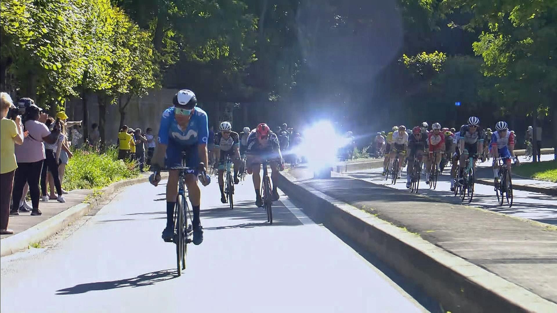 Sykler så fort at fotoboksen blinker