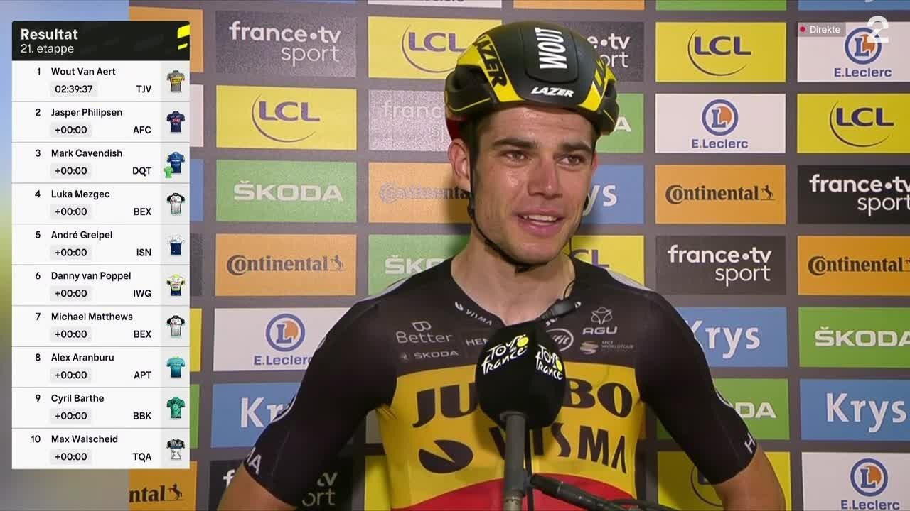 van Aert: – Dette var over all forventning