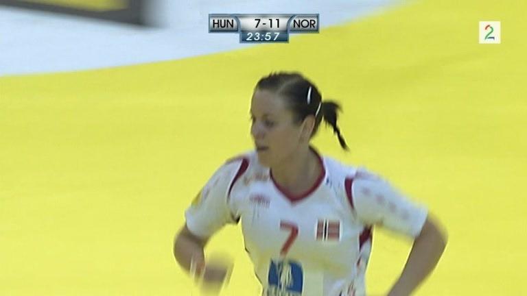 Nøstvold Lunde banket inn scoring for Norge