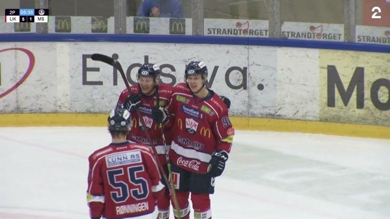 Mål: Johansen Petr (LIK) 6-1 (34)