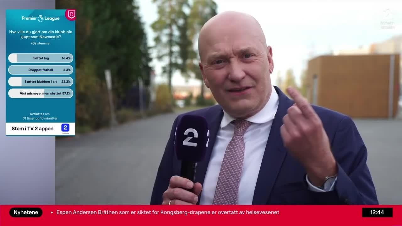TV 2-Fin raser: – Jeg slår opp med Newcastle