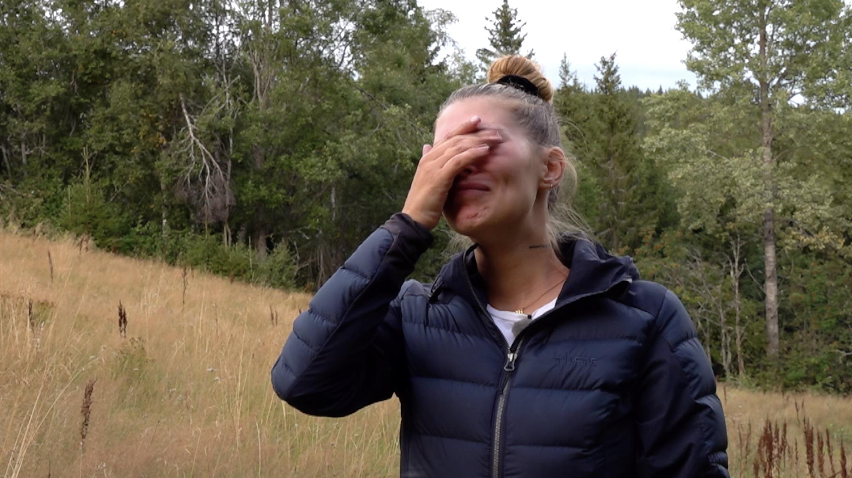 Amalie tar til tårene etter Farmen-exiten