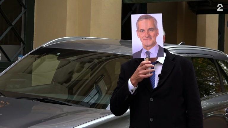 Ikke akkurat snobbebil: Dette kjører statsministeren privat