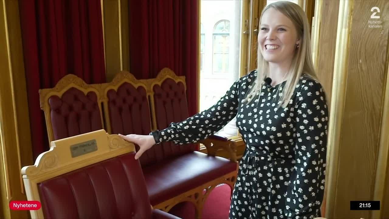 Denne kvinnen setter ny rekord på Stortinget