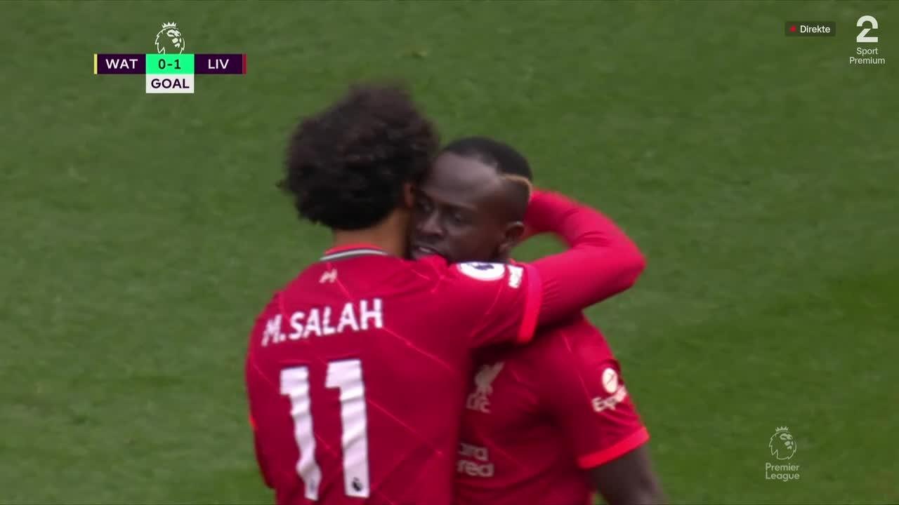 Se Salahs fantastiske pasning