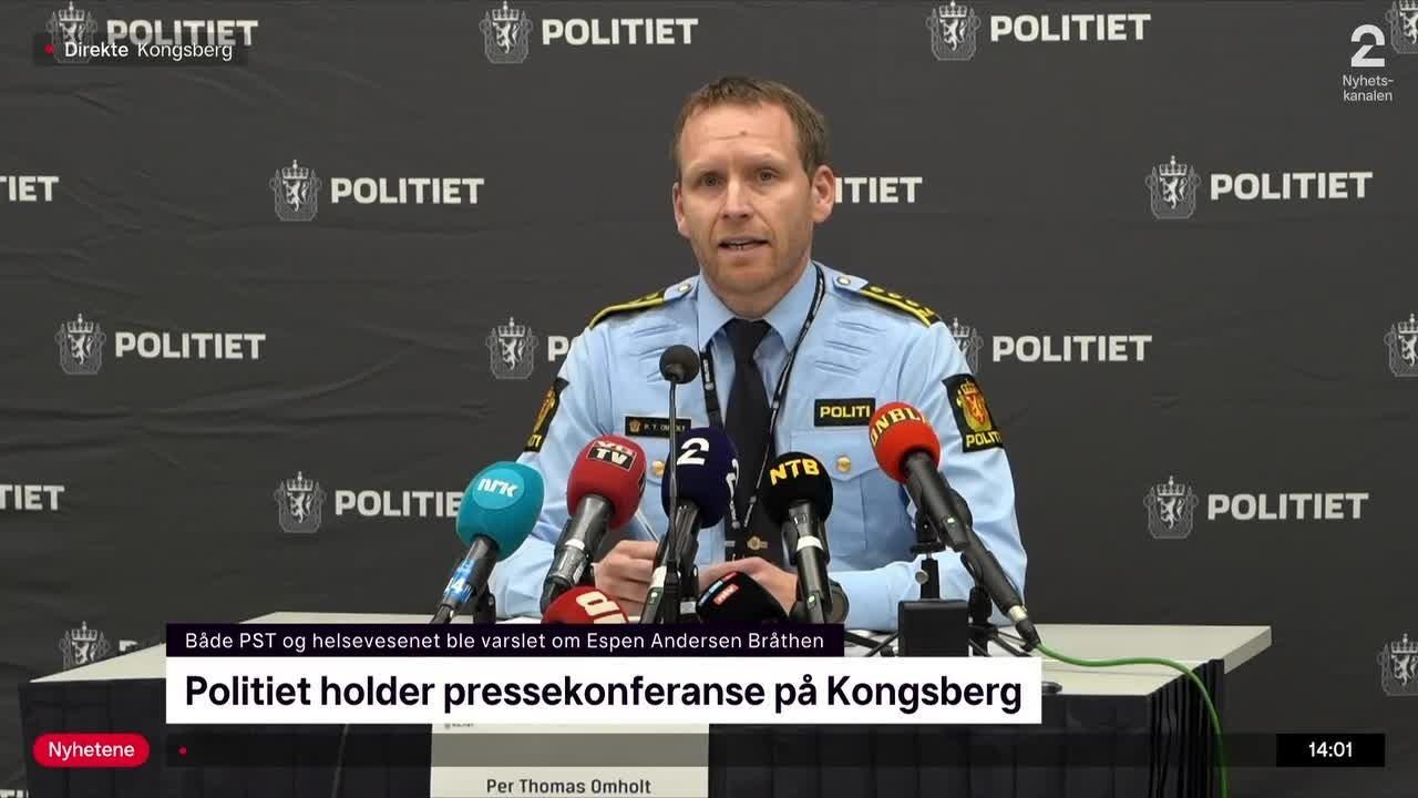 Politiet mener Bråthen kanskje ikke har konvertert