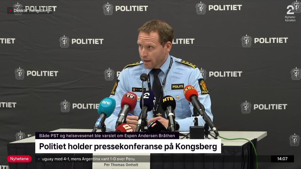 Disse ble drept i Kongsberg