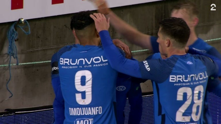 Mål: Brynhildsen 2-0 (79)