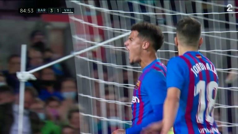 Mål: Coutinho (BAR) 3-1 (85)