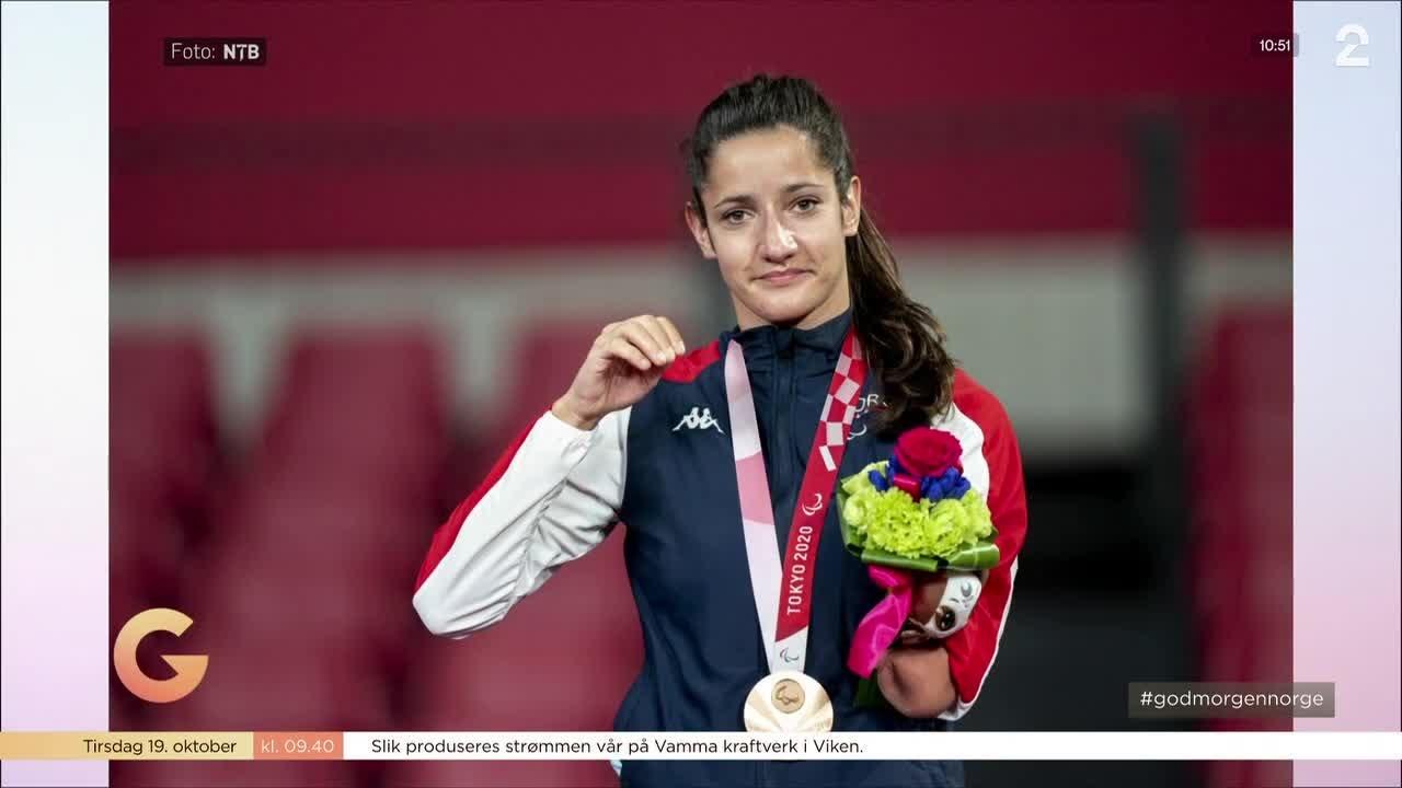 Bordtennisspiller Aida Dahlen vant bronse i Paralympics: - Det er det jeg har jaktet på i flere år
