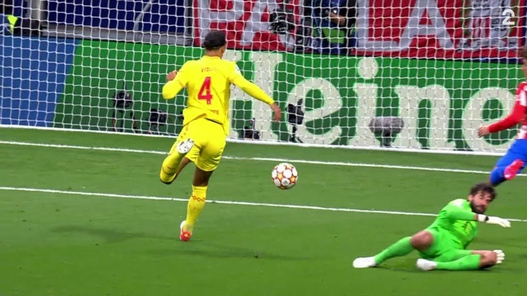 Sammendrag: Atlético - Liverpool 2-3