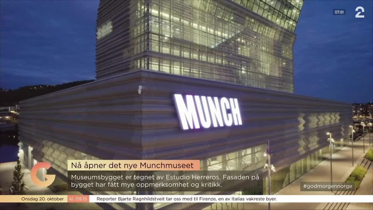 Se de første bildene fra innsiden av MUNCH
