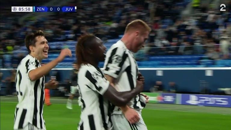 Sammendrag: Zenit - Juventus 0-1
