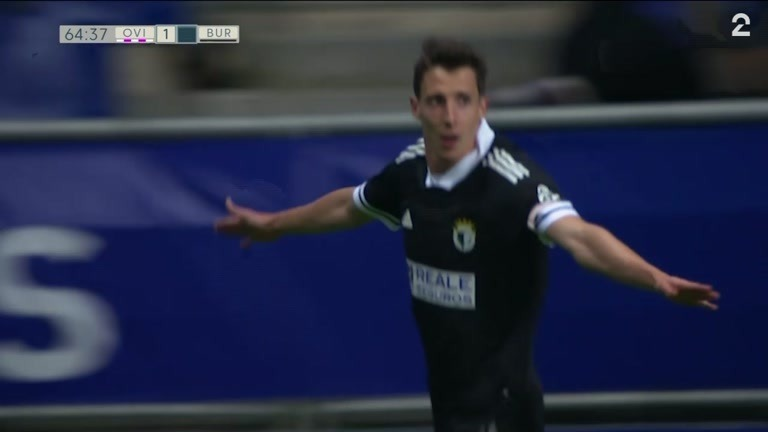 Mål: Guillermo (BURG) 1-2 (65)